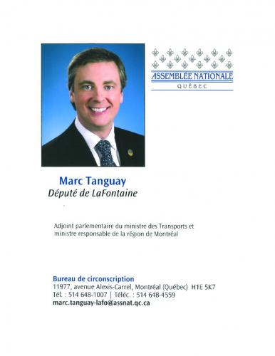 MARC TANGUAY DEPUTE LAFONTAINE